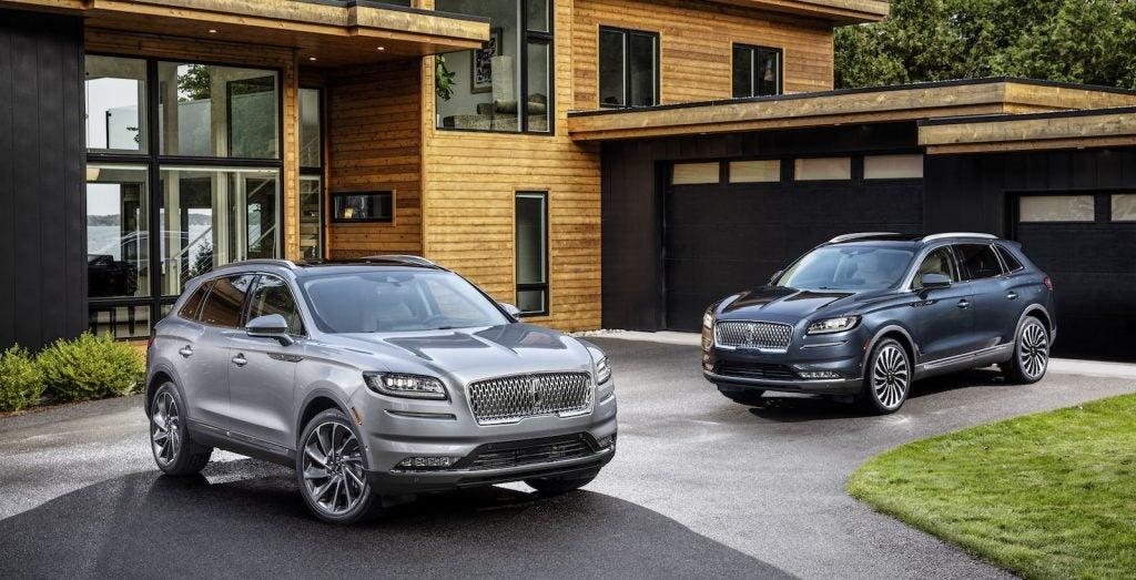 2021 Lincoln Nautilus pair