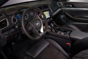 2021 Nissan Maxima cockpit