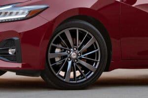 2021 Nissan Maxima red wheel