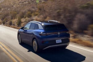 2021 VW ID.4 rear driving