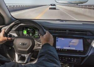 2022 Chevrolet Bolt EUV cockpit