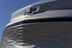 2022 Chevrolet Bolt EUV fascia