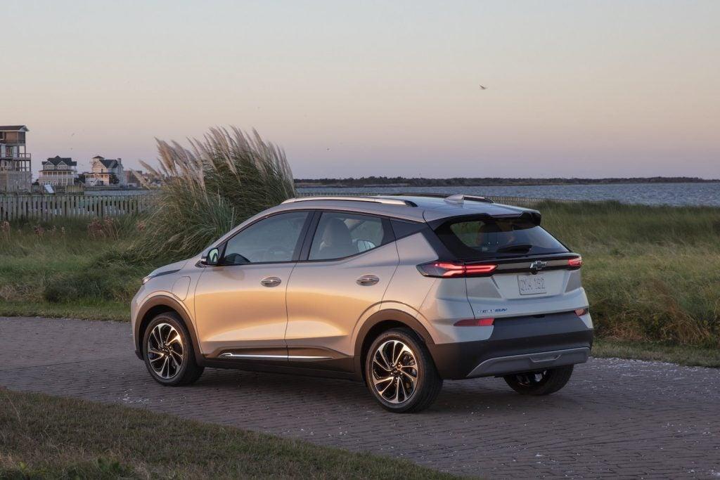 2022 Chevrolet Bolt EUV rear