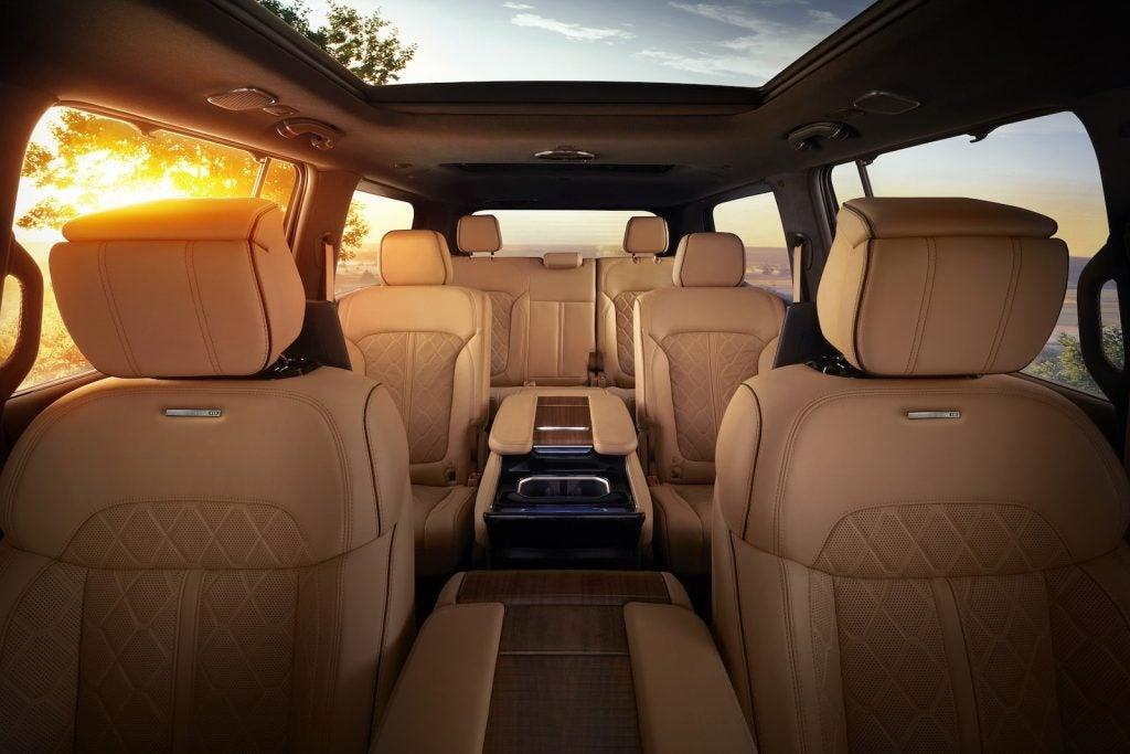 2022 Jeep Grand Wagoneer cabin