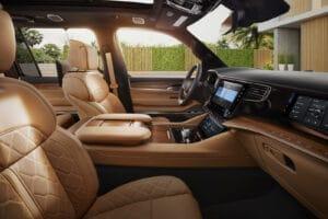 2022 Jeep Grand Wagoneer seats