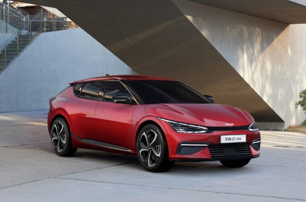 2022 Kia EV6 GT-Line front