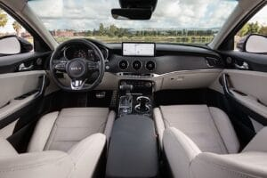 2022 Kia Stinger GT Line interior