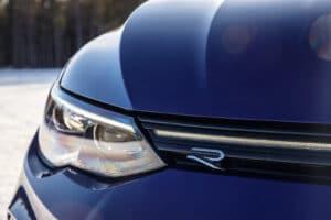 2022 VW Golf R winter headlight