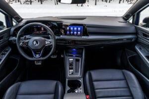 2022 VW Golf R winter interior
