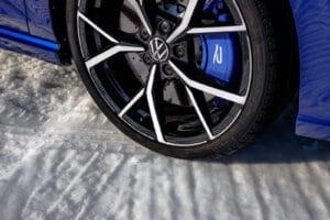 2022 VW Golf R winter wheel