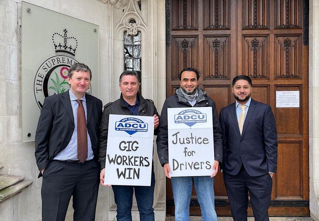 ADCU beats Uber in UK court 2021