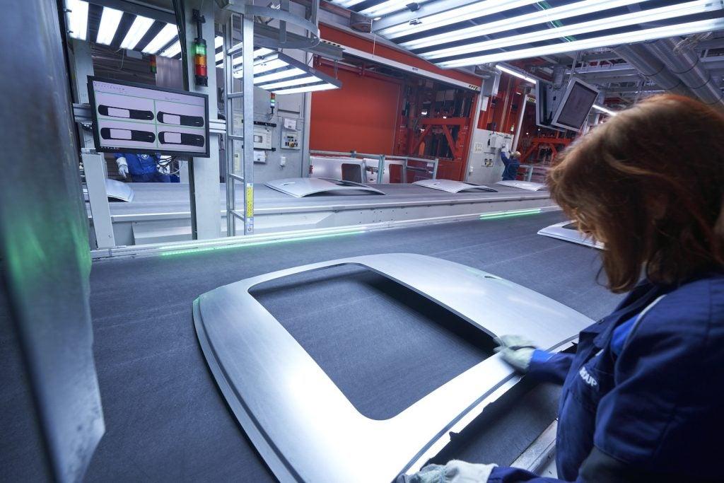 BMW carbon emission free steel sunroof