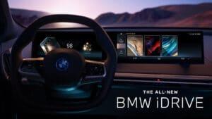 BMW iDrive 8 dashboard