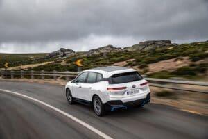 BMW iX - rear 3-4 driving