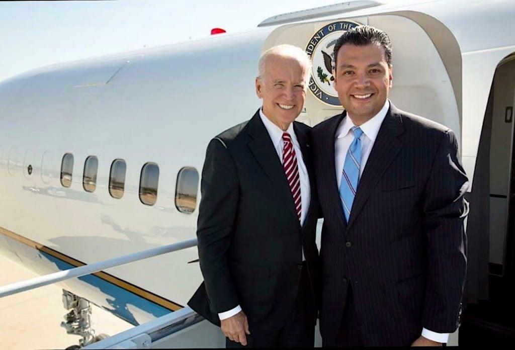 Biden and Padilla