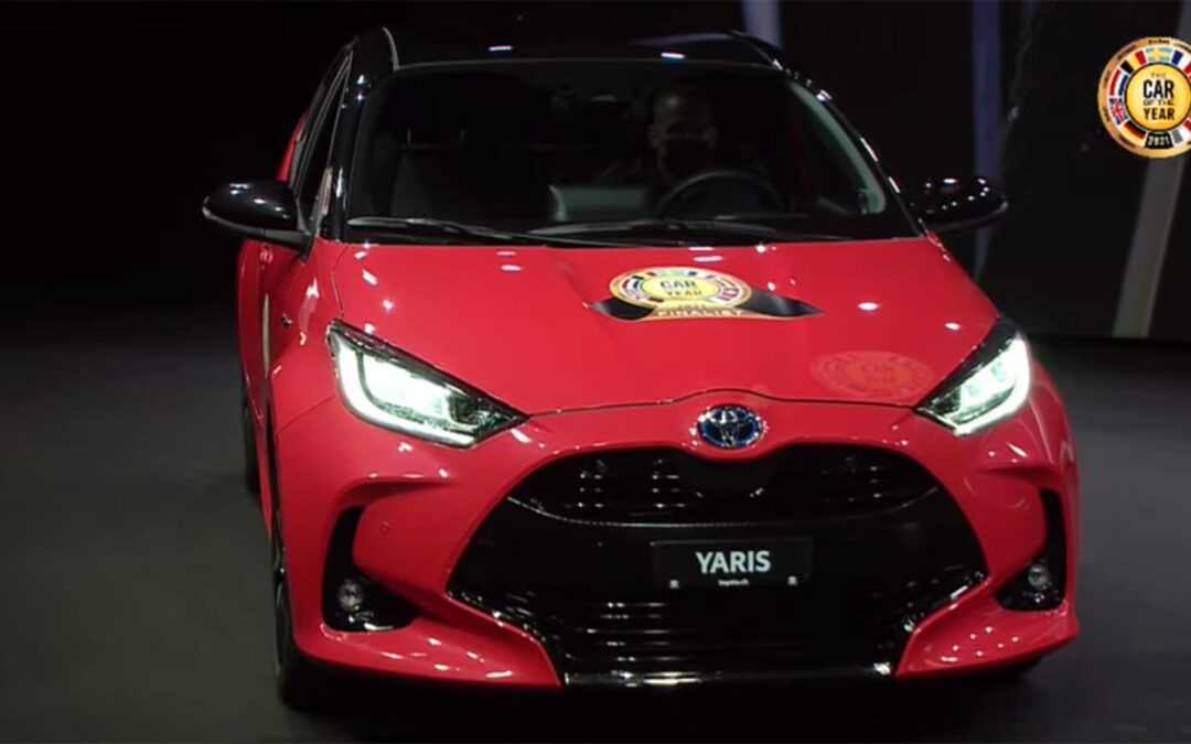 Toyota Yaris Named Car of the Year at Virtual Geneva Motor Show