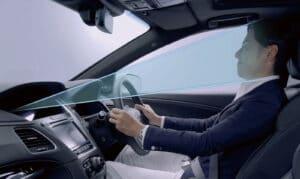 Honda Sensing Elite driver camera