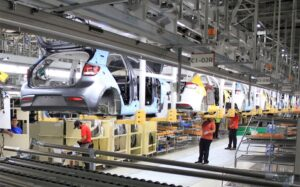Kia Mexico plant line