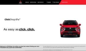 Mitsubishi ClickShop