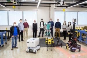 U-M Ford robotics group