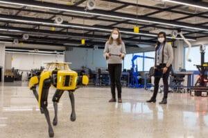 U-M Ford robotics testing