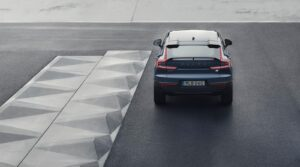 2022 Volvo C40 Recharge rear