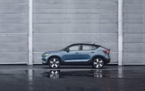 2022 Volvo C40 Recharge - side parked