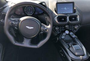 2021 Aston Martin Vantage Roadster cockpit