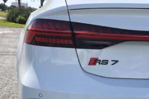 2021 Audi RS 7 taillight