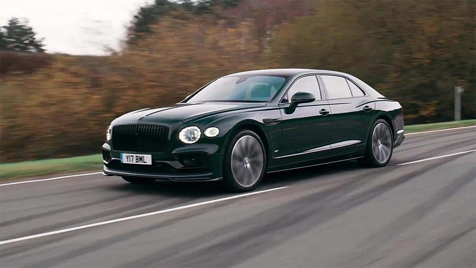 A Week With: 2021 Bentley Flying Spur V8 in Barnato - The Detroit Bureau