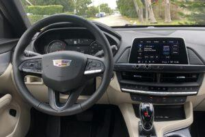 2021 Cadillac CT4 500T cockpit