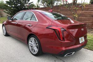 2021 Cadillac CT4 500T rear