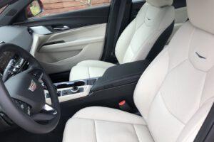 2021 Cadillac CT4 500T seats
