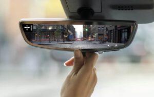 2021 Cadillac XT4 camera mirror