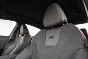 2021 Hyundai Sonata N Line silver seats