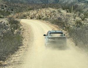 2022 Hyundai Tucson Hybrid rear climbing