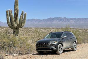 2021 Hyundai Tucson front