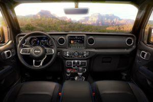 2021 Jeep Wrangler Rubicon 4xe interior