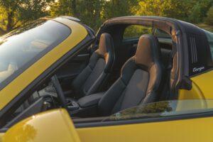 2021 Porsche 911 Targa 4S cabin