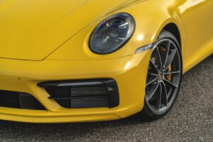 2021 Porsche 911 Targa 4S headlight