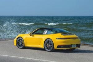 2021 Porsche 911 Targa 4S rear