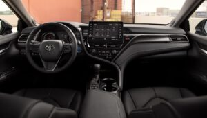 2021 Toyota Camry Hybrid XSE interior