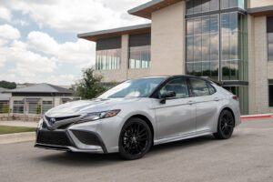 2021 Toyota Camry XSE Hybrid front