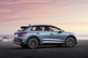 2022 Audi Q4 e-tron rear