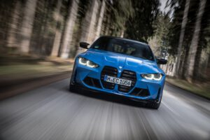 2022 BMW M3 Competition driving