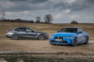 2022 BMW M3 and M4 Competition models