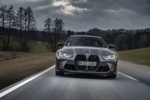 2022 BMW M4 Competition driving