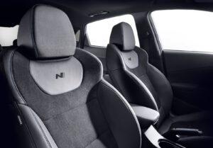 2022 Hyundai Kona N seats