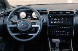 2022 Hyundai Santa Cruz cockpit