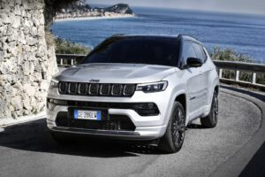 2022 Jeep Compass S 4xe driving